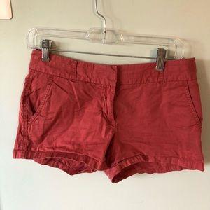 Jcrew Nantucket Colored Shorts